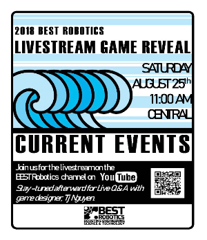 Best Robotics Game Reveal Announcement- Click for PDF